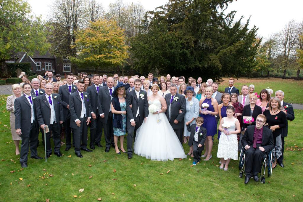 Formal Wedding Photography